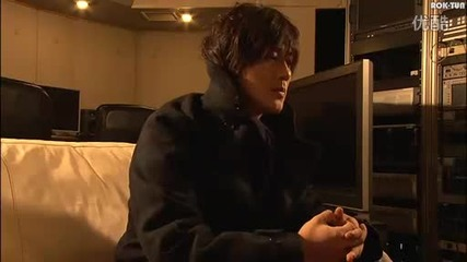 Jin Akanishi Behind the scenes pt.1/4 [ Yellow Gold Tour 3011]
