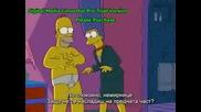 The Simpsons - Комикси И Фитнес(БГ Субс)