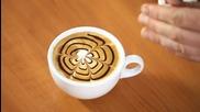 Изумително! | Изкуството да рисуваш върху кафе! И още нещо.