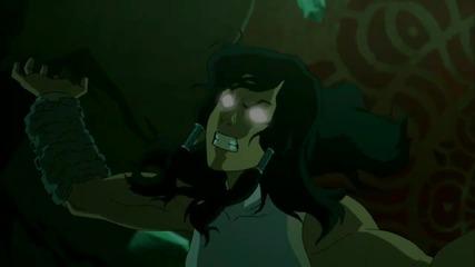 The Legend of Korra Book 3 Episode 13 - Venom of the Red Lotus Bg Вградени