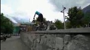 Danny Mcaskill filming in Chamonix for Perfect Moment