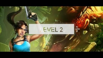 Tomb Raider Relic Run ниво 2, 3 звезди