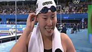 Китайска плувкиня стана сензация - когато не знаеш, че си медалист на Олимпиадата в Рио!