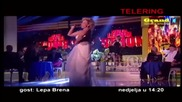 Lepa Brena - Najava za Telering talk show ( OBN 15. 02. 2015 )