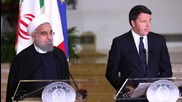 Italy: PM Renzi meets with Iranian President Rouhani in Rome