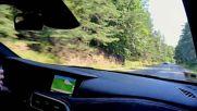 Infiniti Q30S - поглед отвън, форсиране на двигателя, ускорение, шофиране