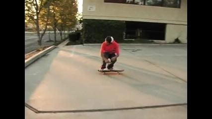 Paul Rodriguez Nollie 360 flip