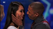 Nick Cannon Awkwardly Kisses 'America's Got Talent' Audience Member
