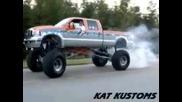 Burnout С Monster Truck