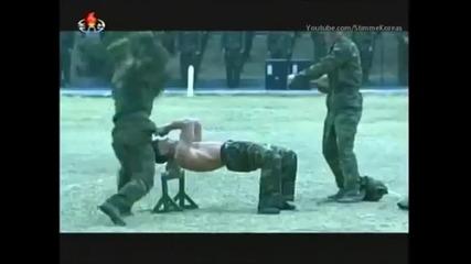 Ето как се обучават войници в комунистическа Северна Корея