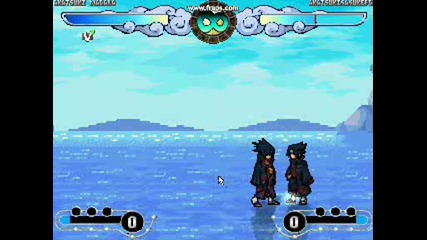 Naruto Mugen - Uchiha Madara vs Uchiha Sasuke