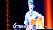 Justin Bieber изпя страхотно I'll Be на концерта си в Сидни / Австалия 28.04.2011