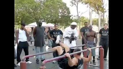 Street Fitness - Barstarzz and Hannibal compilation of moves.