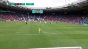 Голът на Патрик Шик срещу Шотландия