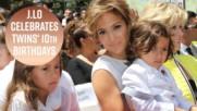 Джей Ло организира съвсем обикновено парти за Рождения ден на децата си