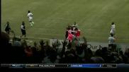 Атрактивен гол със странична ножичен удар от американското първенство