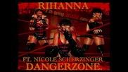Demo For Rihanna Ft. Nicole - Dangerzone New Hot 2009.avi