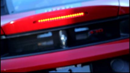 Ferrari F430 Scuderia in the cold