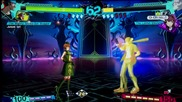 E3 2014: Persona 4 Arena Ultimax - Junpei Vs Elizabeth Gameplay
