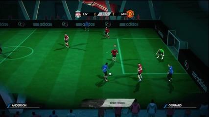 Fifa Street 4 Манчестер Юнайтед срещо Ливарпул