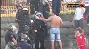Деца псуват като хамали по трибуните в Хасково