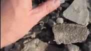 Феноменално природно явление !перфектни кубчета от сол образувани в мъртво море!
