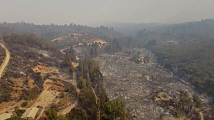 Chile: Quilpue fires cause huge damage as 25,000 locals evacuated