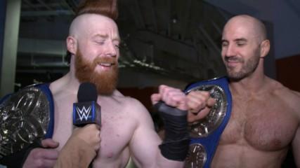 The Bar are silent after demolishing The Miz & Shane McMahon: WWE.com Exclusive, Jan. 22, 2019