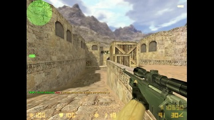 Counter Strike 1.6 de_dust2 new wallbang2