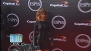 Halle Berry's Waves Own ESPYs Red Carpet
