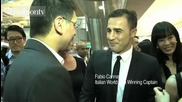 Fabio Cannavaro at Raoul Boutique Opening Party & Winter 2012 Collection Launch
