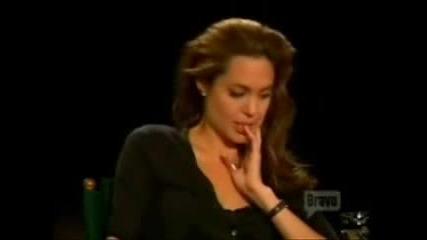 Анджелина Джоли - Интервю (част 5)