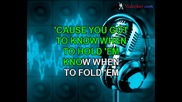 Kenny Rogers - Gambler (karaoke)