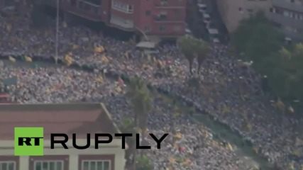 Spain: Thousands march for independence on Catalan National Day
