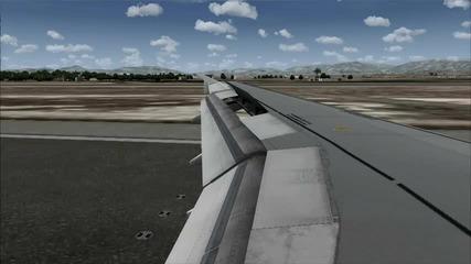 Fsx Airbus A320 Landing in Mallorca!