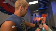 Christian and The Muppets and Sheamus Wwe Raw 31/10/11