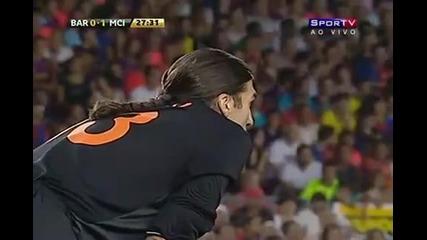 Знаменития гол на М. Петров срещу Барселона!