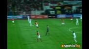 Цска 0:0 Динамо ( Москва) - Отмененият гол за Руснаците