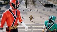Power Rangers Samurai Episode 4