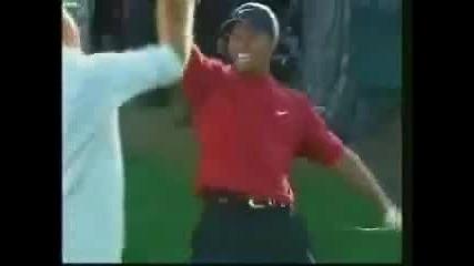 Изумителен Удар На Tiger Woods
