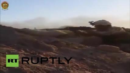 Iraq: Iraqi soldiers battle Islamic State in al-Anbar *GRAPHIC*