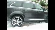 Защо се мъчиш в Снега Audi Q7