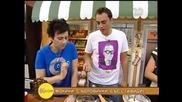 Лора и Стоян от Бон апети на гости на Гала - На кафе (22.09.2014г.)