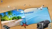 Време за море! ... ( Wieslawa Dudkowiak - with accordion on Beach)