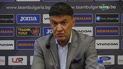 Боби Михайлов с коментар за изгонването на Величков