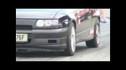 Honda Civic Vti vs. Opel Astra Gsi Drag Race Eeslc