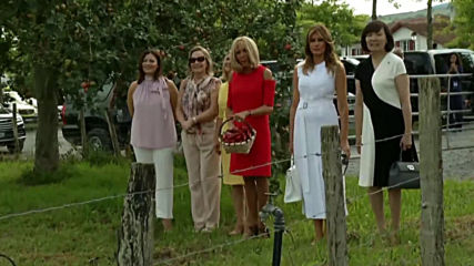 France: Brigitte Macron takes G7 spouses for tour round Espelette