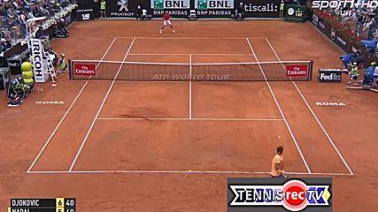 Novak Djokovic vs Rafael Nadal - Rome 2016