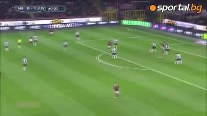 Милан - Ювентус 0:2 02.03.2014