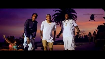 Sean Kingston - Beat It ft. Chris Brown & Wiz Khalifa ( Официално Видео )
